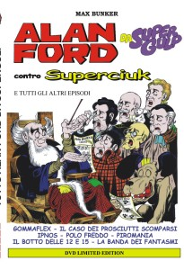 Tutto Alan Ford da Supergulp<br>DVD Limited edition<br>Euro 15,00 (dal 6 dicembre)