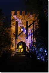 Castello di Gropparello - By Night (2)