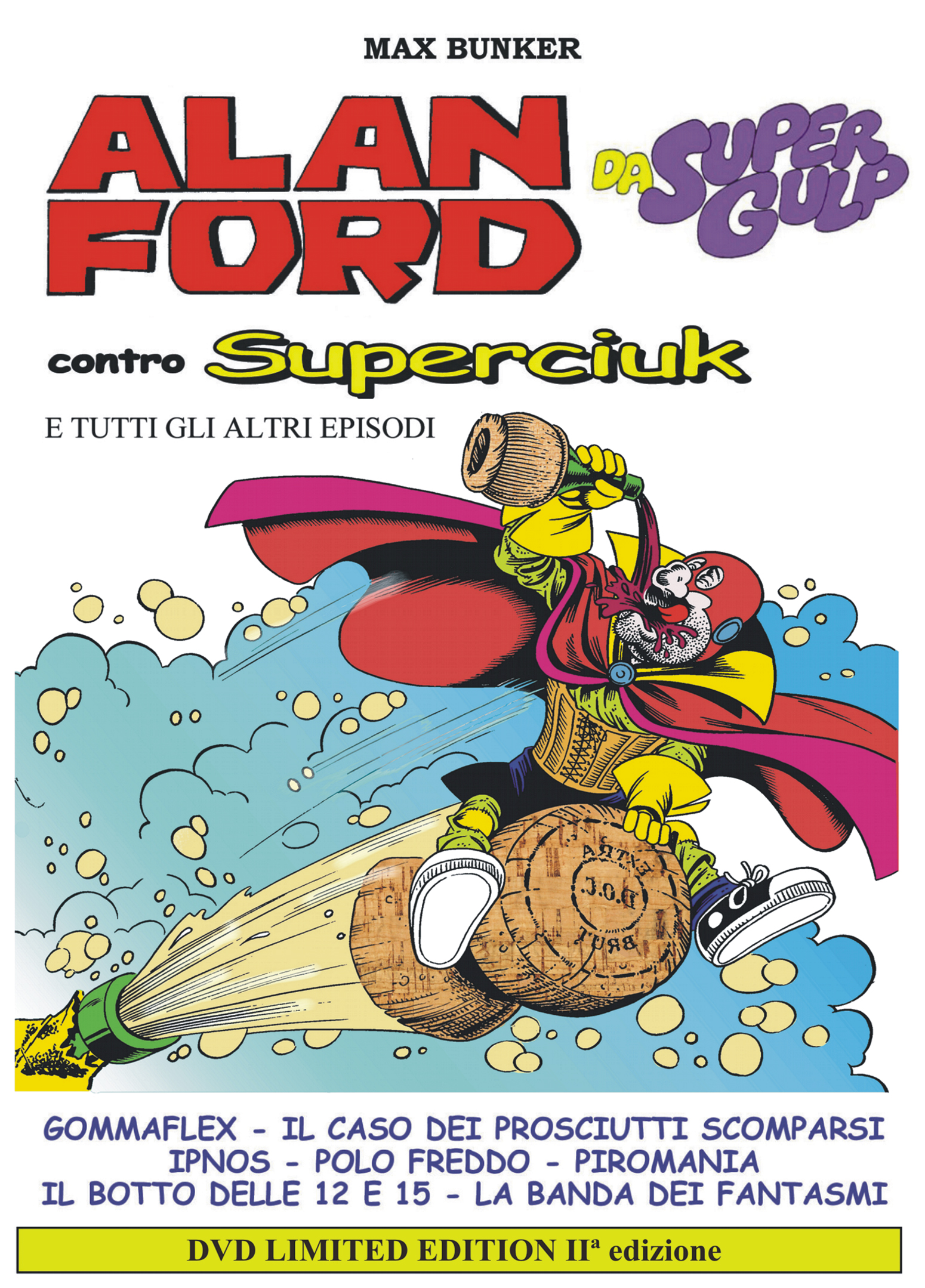 Dvd Alan Ford Contro Superciuk