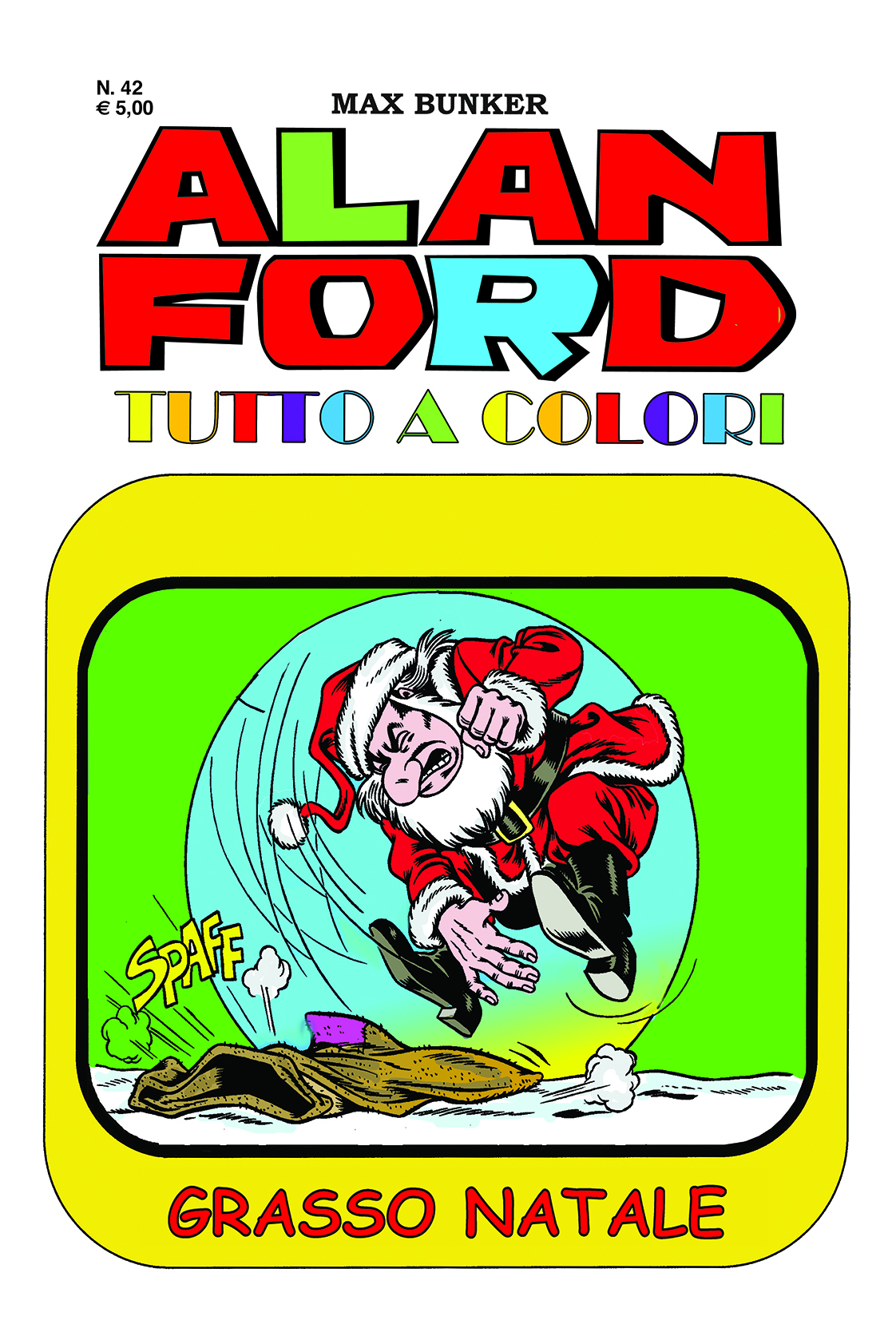 Alan Ford Colore n. 42