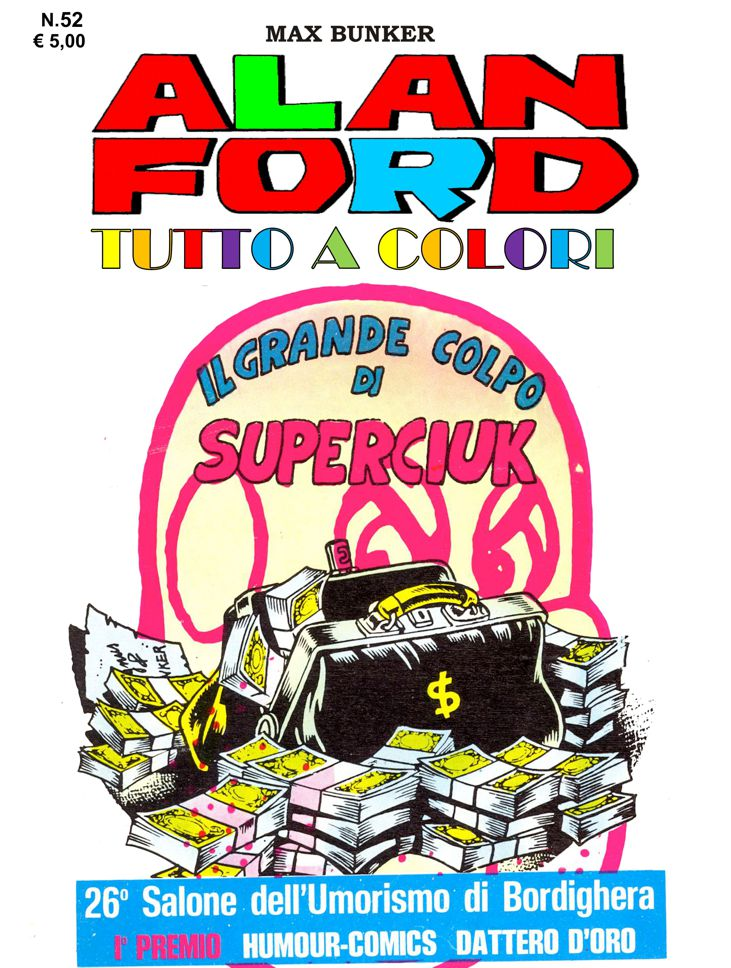 Alan Ford Colore N. 52