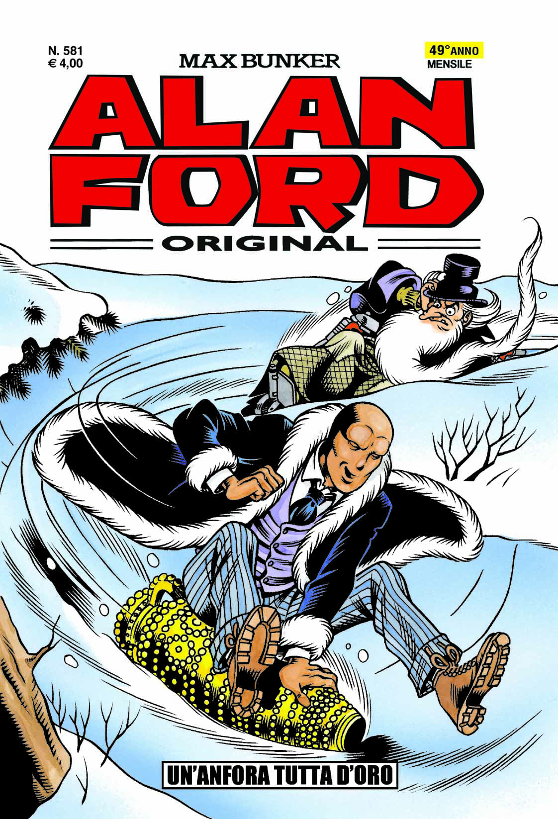 Alan Ford Original n. 581