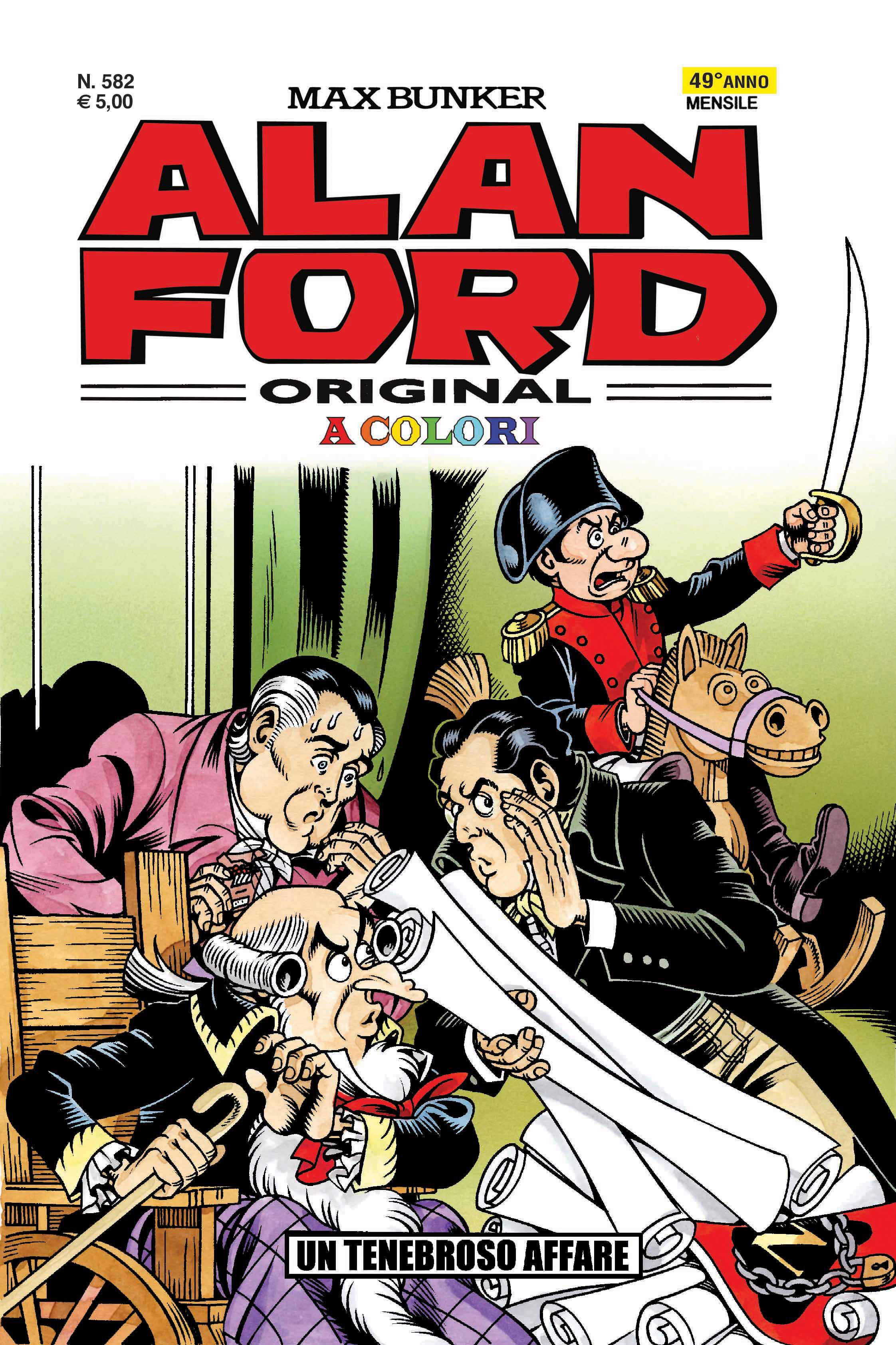 Alan Ford Original N. 582