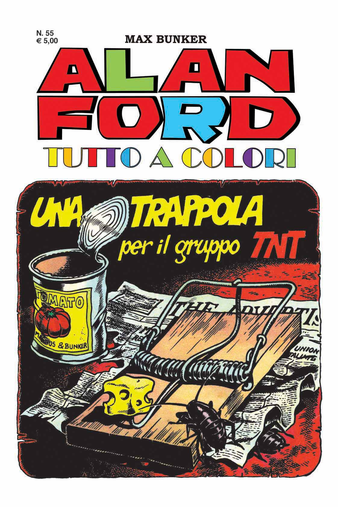 Alan Ford Colore N. 55