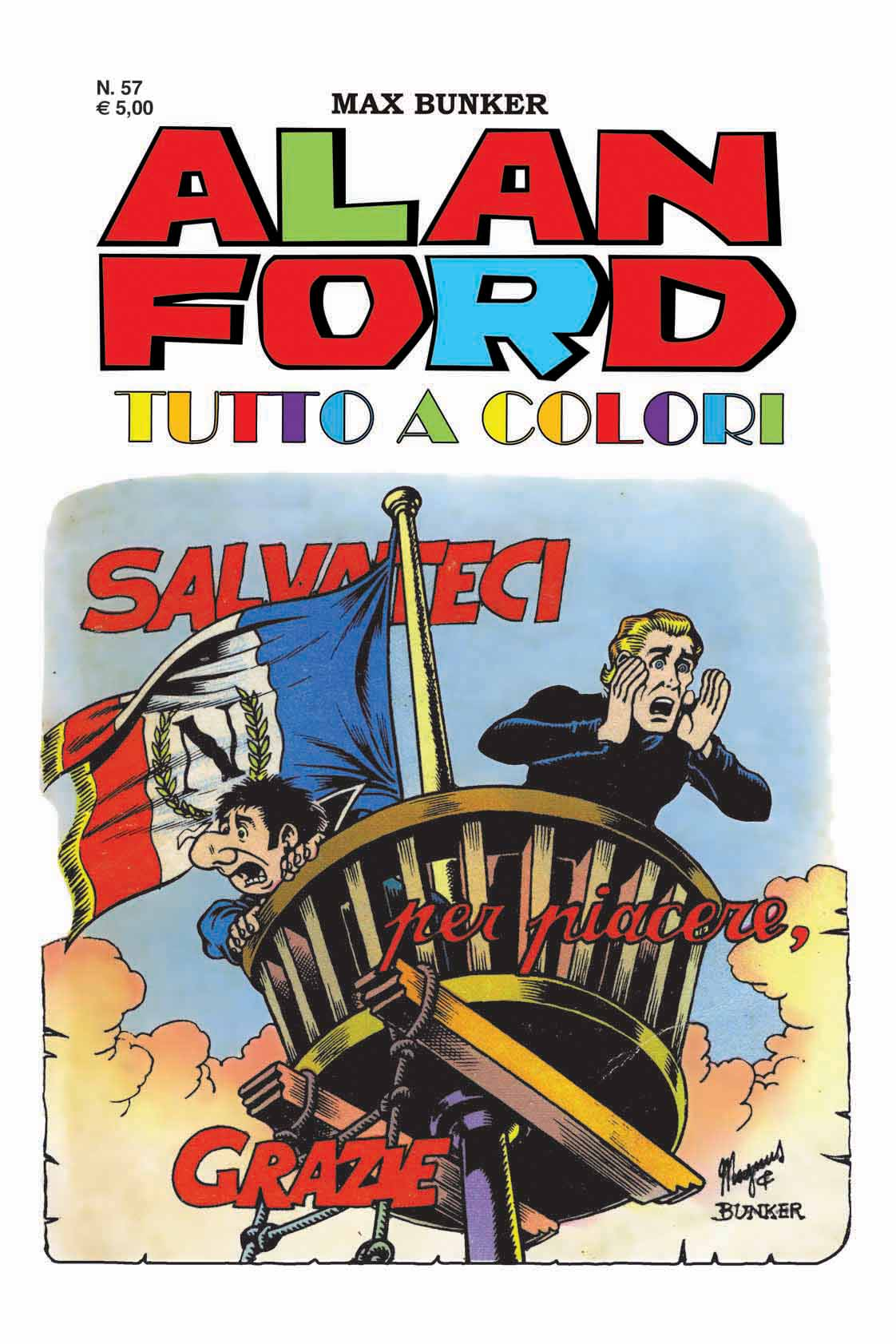 Alan Ford Colore N. 57