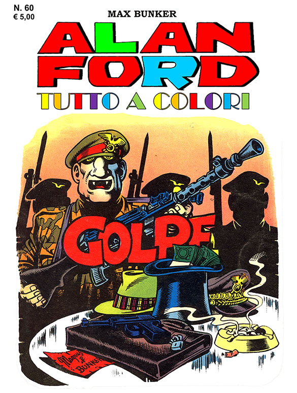 Alan Ford Colore N. 60