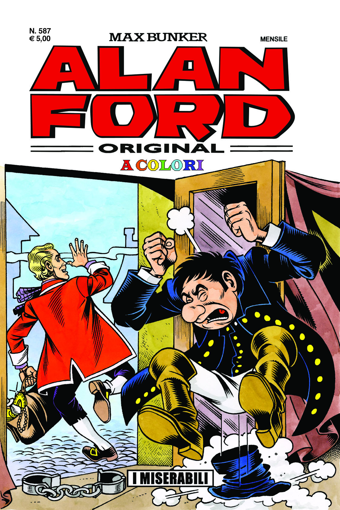 Alan Ford Original N.587