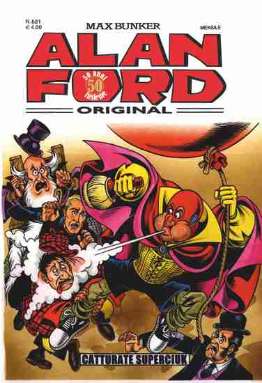 Alan Ford Original n. 601