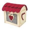 Collezione I FELTRI          Oggetti in feltro per rendere più caldo e morbido il regalo. La vostra piccola casa in feltro decorata […]